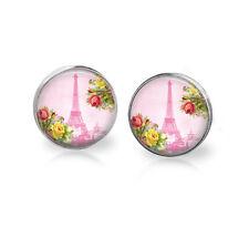 Eiffel Tower Post Earrings-Paris-Spring-women,teen,post earrings,silver plated