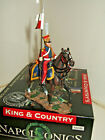 King & Country NA160 Napoleonics, A Dutch Lancer advancing at walk  1:30 Scale