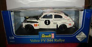 Revell Volvo PV 544 Rallye #1 1/18 Diecast Model Replica Car White & Black