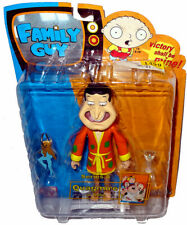 "Family Guy Quagmire in Orange Robe Series 8 Action Figure 6"" Scale MIB Mezco Toy"