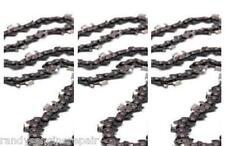 "Set of 3 replace Husqvarna 18"" Chainsaw Chain H30-72 95VP .325"" .050 501840672"