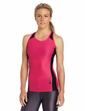 NEW Sugoi Women's RSR Tank Top Running Cycling Shirt Tank Top, Pink, M