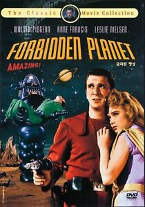FORBIDDEN PLANET (1956) DVD - NEW - REGION 2 - WALTER PIDGEON (UK SELLER)