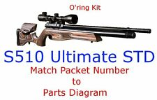 Air Arms O'ring Kit S510 Ultimate STD