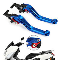 Left&Right Motorcycle Brake Clutch Levers For NMAX 125/155 2015-2018 Blue A9 B2
