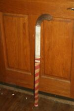 "Vintage Wooden Cranbarry ""The Bully"" Field Hockey Stick 33 inches"