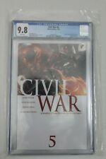CIVIL WAR #5 CGC 9.8 1ST PRINTDEATH OF GOLIATH
