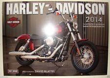 Harley Davidson 2014  Calendar -NIS..