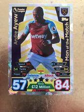 Match Attax Season 17/18 West Ham #436 Andre Ayew-MOTM