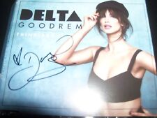 Delta Goodrem Thinking About You Australian Signed Autographed CD Single – New