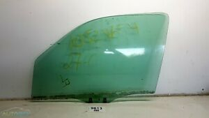 01-06 Mazda Tribute FL Door Window Glass Clear OEM