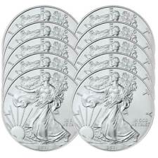Lot of 10 - 2021 $1 American Silver Eagle 1 oz Brilliant Uncirculated