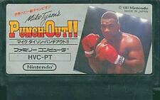 USED Nintendo FC Mike Tyson's Punch-Out Famicom Cartridge Only Japan