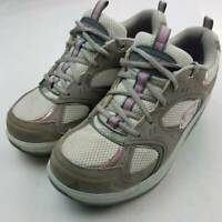 Skechers Womens Shape Ups Action Packed Sneaker Gray 11806 Walking Toning Shoe 9