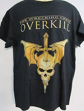 NEW - OVERKILL WRECKING CREW BAND / CONCERT / MUSIC T-SHIRT LARGE
