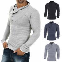 Hot Fit Sleeve Cotton Mens Tops Tee T-shirts Fashion Slim Long Shirt Casual