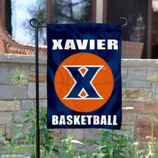 Xavier University Basketball Garden Flag and Yard Banner