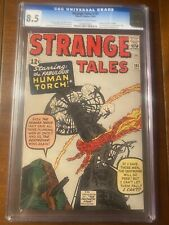 STRANGE TALES #101 10/62 CGC 8.5 OWW ICONIC HUMAN TORCH COVER RARE IN HIGH GRADE