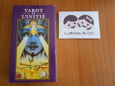 TAROT de L'INITIE NORBERT LOSCHE JEU 78 CARTES CARTOMANCIE LO SCARABEO ° FABBRI