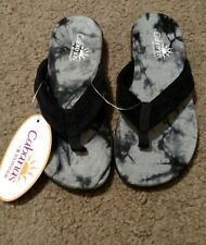 NWT Cabanas sandals by Isotoner size 6