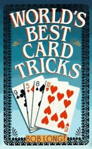World's Best Card Tricks by Longe, Bob Paperback Book The Cheap Fast Free Post