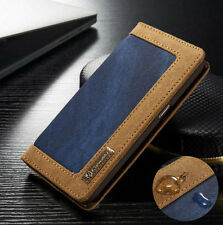 Luxury Leather Wallet Card Holder Flip Case Cover For Samsung Galaxy S6 EDGE New