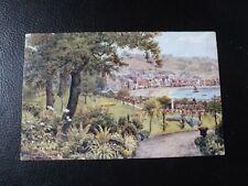 A.R.Quinton postcard *2086 St Nicholas Gardens, Scarborough