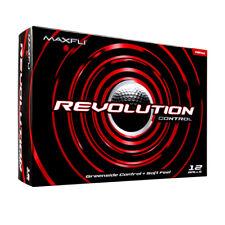 Maxfli Revolution Control Golf Balls - 12 Ball Pack - White