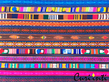 Wholesale Lot Of 20 Beautiful Leather Pumapuncko Betls With Andean Designs