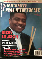 Modern Drummer Magazine January 1993