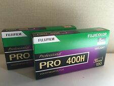 10 Rolls FUJIFILM FUJI PRO 400H Professional Color Film (120 Roll Film) 2 Packs