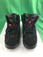 the best attitude 238cf 21430 Nike Air Jordan VI 6 Retro Bred Black Varsity Red 384665-061 Size 6.5Y