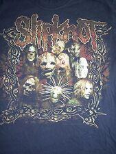 vtg SLIPKNOT tour shirt-M-korn-limp bizkit-linkin park-metallica-slayer-lp-cd