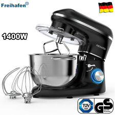 Multifunktion Küchenmaschine Knetmaschine Edelstahl Rührschüssel Standmixer 5,5L