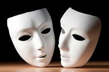 Encadrée imprimer-vénitien mascarade carnaval blanc masques (photo poster gothique)