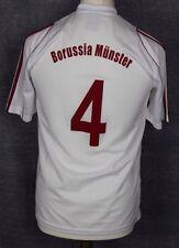 #4 BORUSSIA MUNSTER ADIDAS FOOTBALL SHIRT MENS SMALL GERMANY RARE