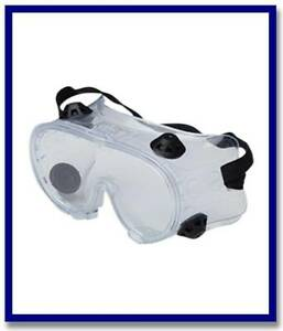 Maxisafe Clear Safety Goggles
