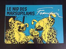 RARE Portfolio Franquin le Nid des Marsupilamis 400 ex Sérigraphie PROCHE NEUF