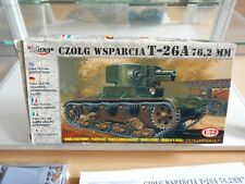 Modelkit Mirage Hobby T-26A 76.2 MM Support Tank on 1:72 in Box