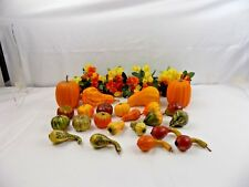PLASTIC FRUITS & FLOWERS - DECOR FOR HOLIDAY