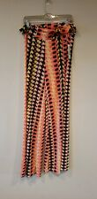 Honey and Lace Palazzo Pants Multi-color Womens XXL Made in USA NEW