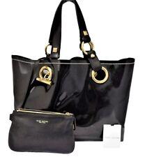 Marc Jacobs Black Tote Bag Patent Handbag