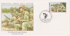 W64 1-1 Isole Marshall FDC COVER 1993 degli Stati Uniti Forze invadere Tarawa 1943