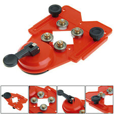 4-83mm Adjustable Glass Tile Hole Saw Drill Guide Locator Openings Sucker Base