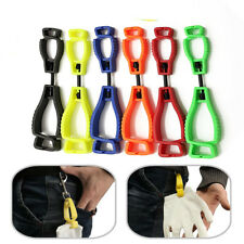 Glove Clip Holder Hanger Guard Labor Work Clamp Grabber Catcher Safety Work