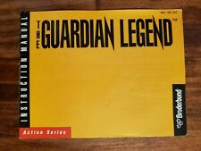 The Guardian Legend manual NES Nintendo