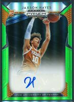 Jaxson Hayes 2019-20 Panini Prizm Draft Picks Green Autograph Auto Rookie RC /25