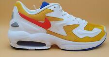 Nike Air Max 2 Light EU 46 Sneaker Schuhe Weiß- Gelb  AO1741 700 Running NEW