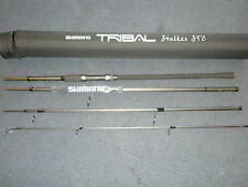 Shimano Tribal Stalker Carp Rod 9ft 4pc 3lb + Cordura Tube Carp fishing tackle