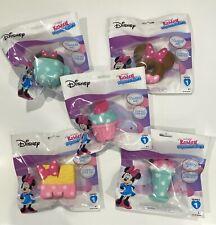 Set of 5 NEW Disney Kawaii Squeezies Series 1 Minnie Mouse Icecrea Cupcake Donut